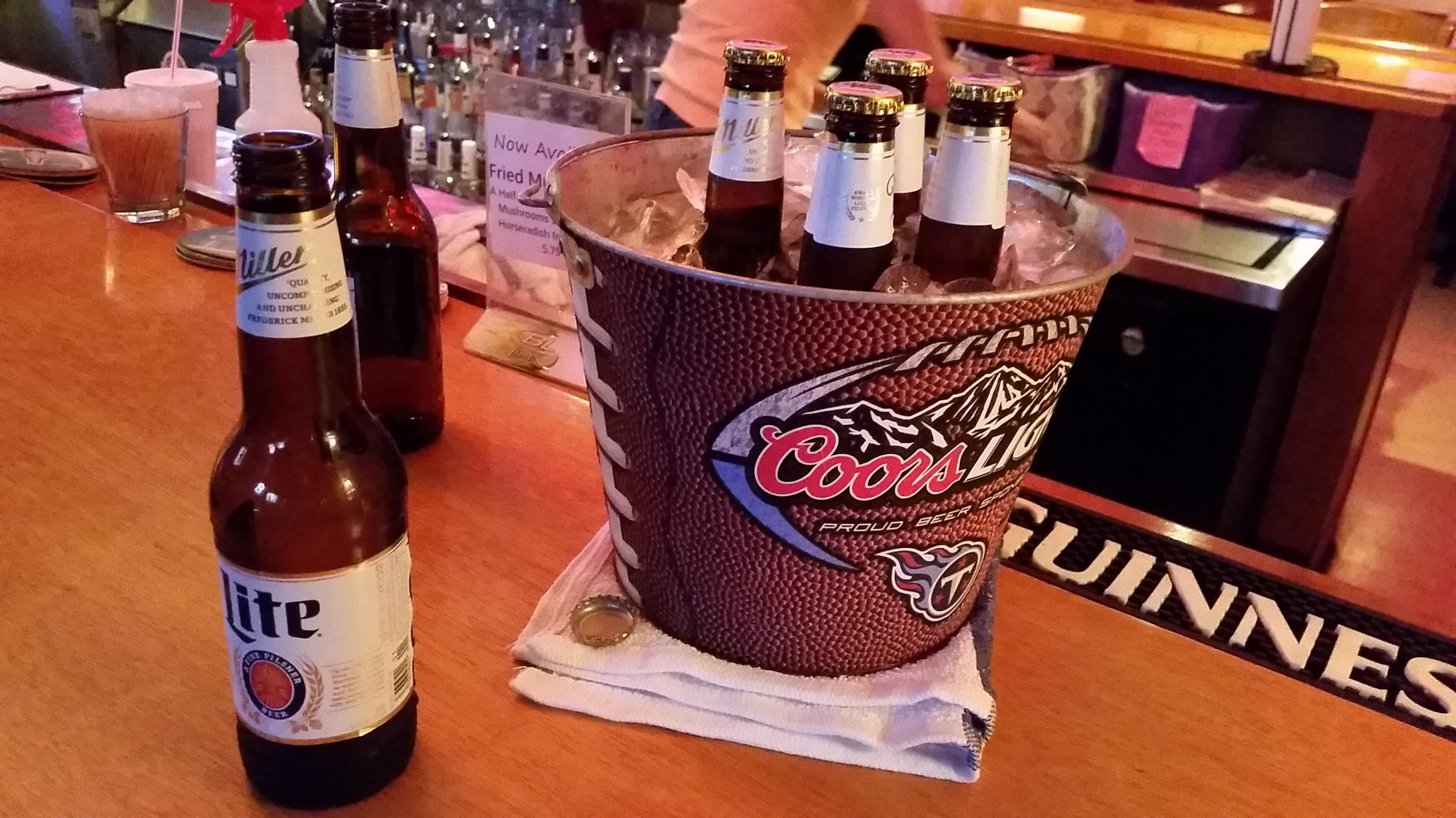 Basketball Beer Challenge
