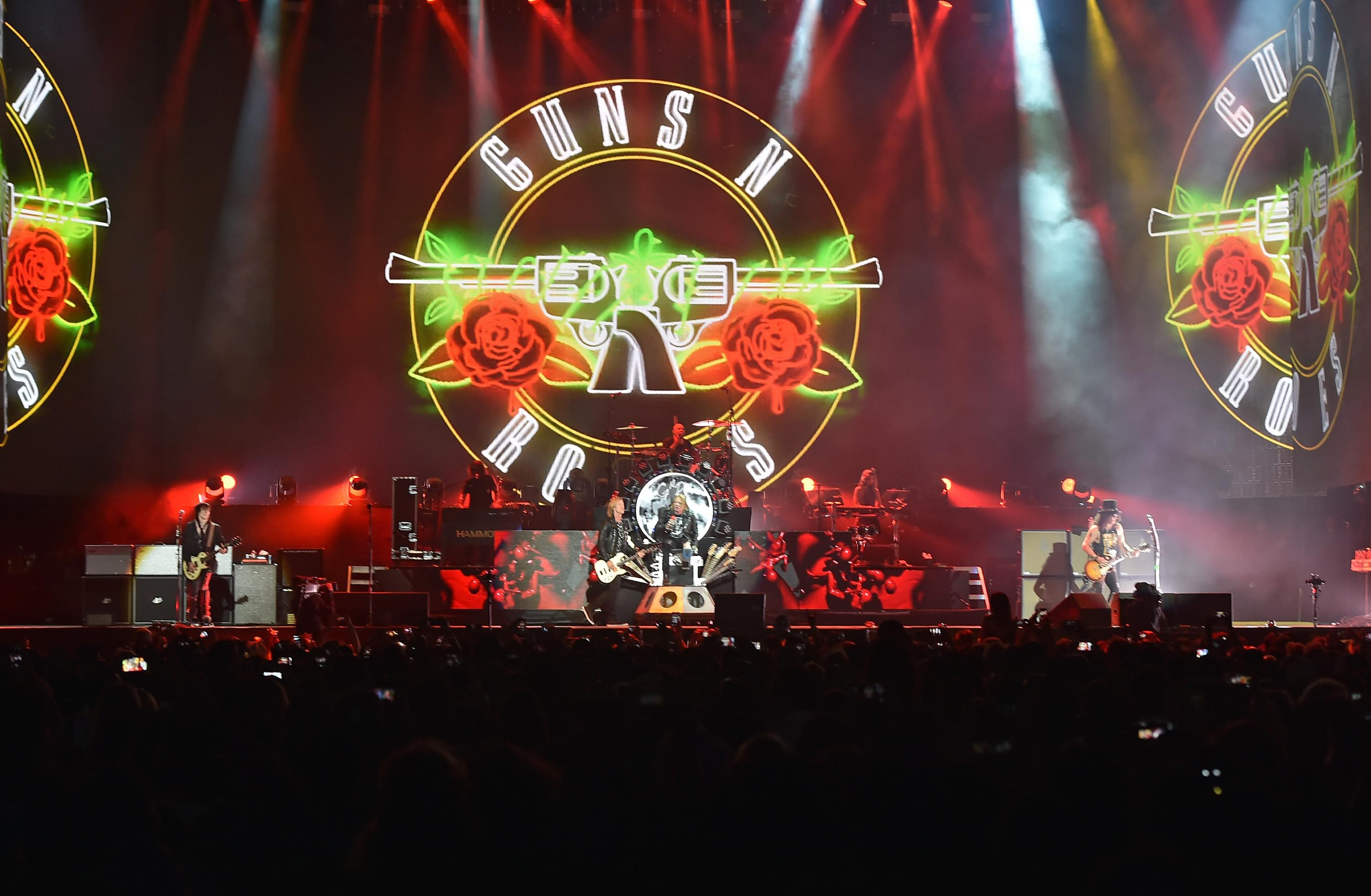 GNR Release New Live Video & Vinyl Greatest Hits