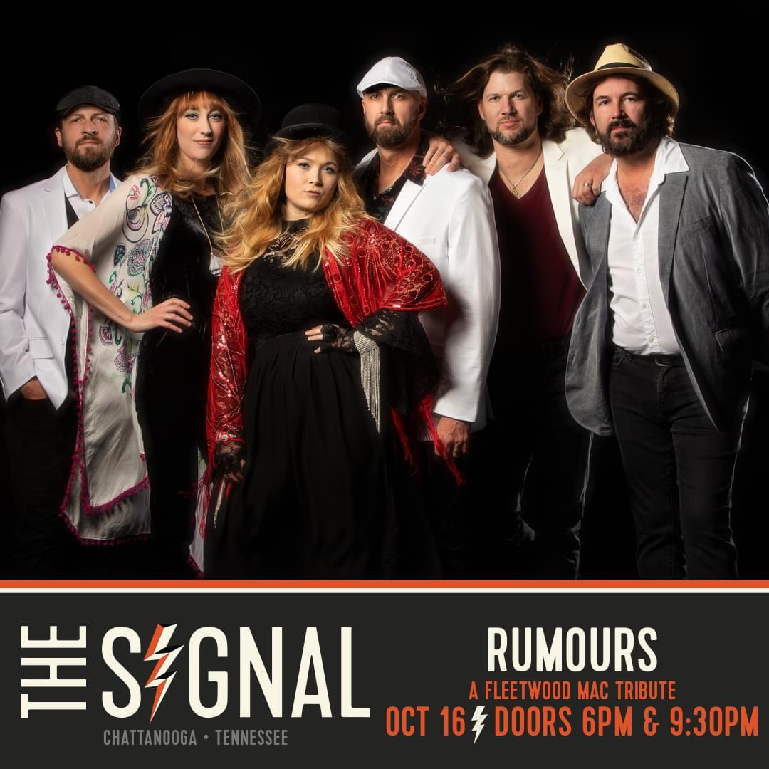 Rumors: A Fleetwood Mac Tribute, October 16th
