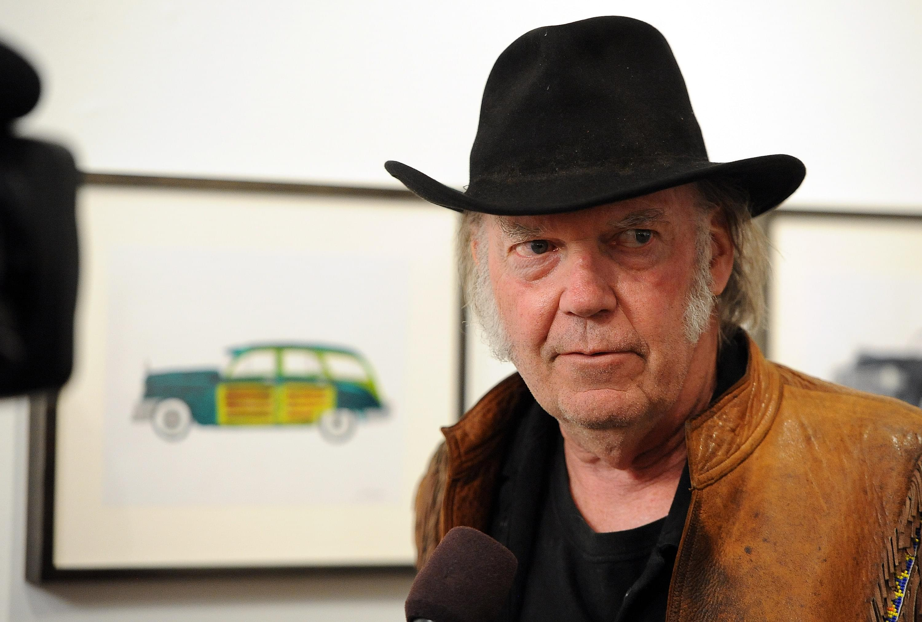 Neil Young Reveals Track List
