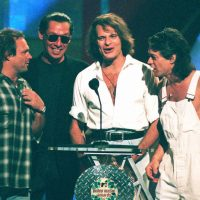 Rock group Van Halen appears for the first time in