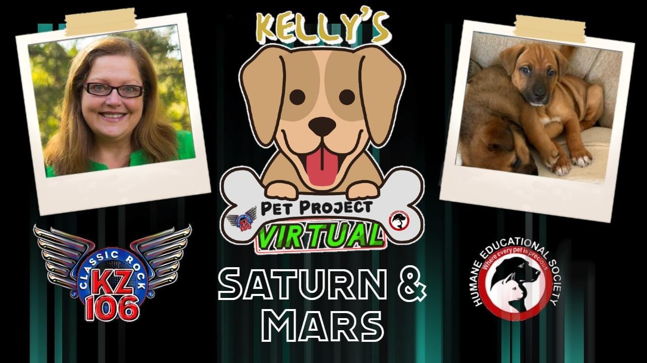 KELLY'S PET PROJECT: SATURN & MARS