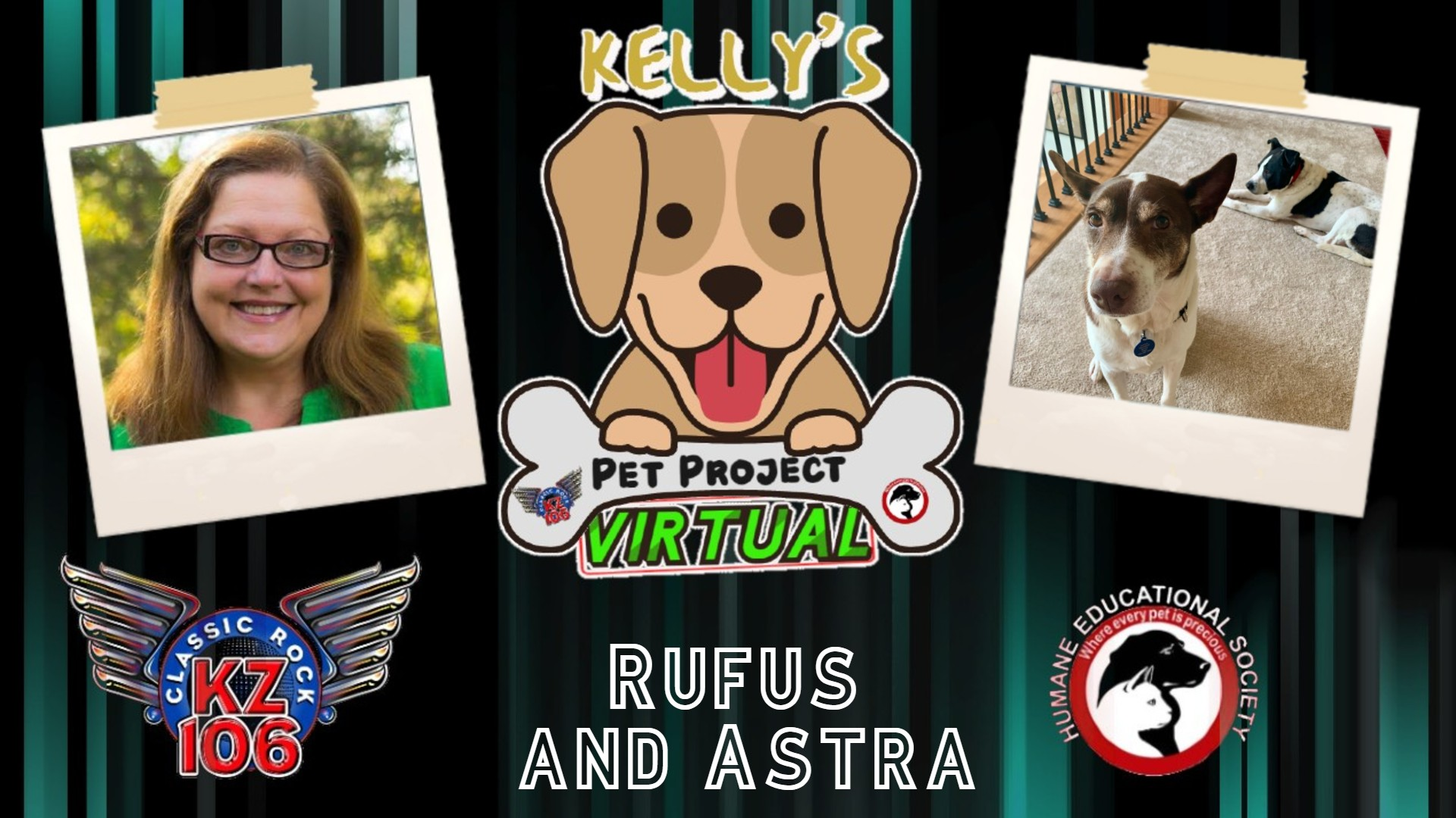 Kelly's Pet Project: Rufus and Astra