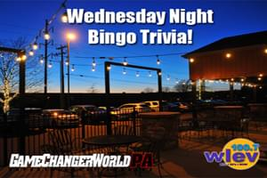 Wednesday Bingo Nights at Game Changer World!