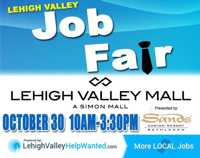 Image result for lehigh valley mall job fair