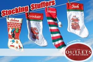 100.7 LEV Stocking Stuffers!