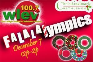 100.7 LEV presents the Falalalympics!!!!