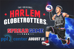 100.7 LEV Welcomes the Globetrotters to the PPL Center