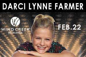 Darci Lynne Farmer at Wind Creek Event Center February 22nd
