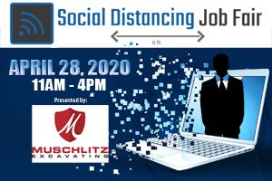 Social Distancing Job Fair | April 28, 2020 11am-4pm
