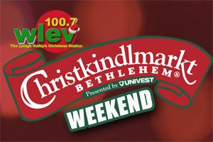It's a Christkindlmarkt Weekend on 100.7 LEV