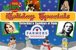 100.7 LEV Holiday Specials presented by Farmers Insurance