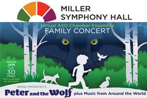 Peter and the Wolf at Miller Symphony Hall