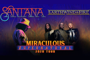 RESCHEDULED: Santana and Earth, Wind & Fire: Miraculous Supernatural at Hershey Park Stadium August 6, 2022