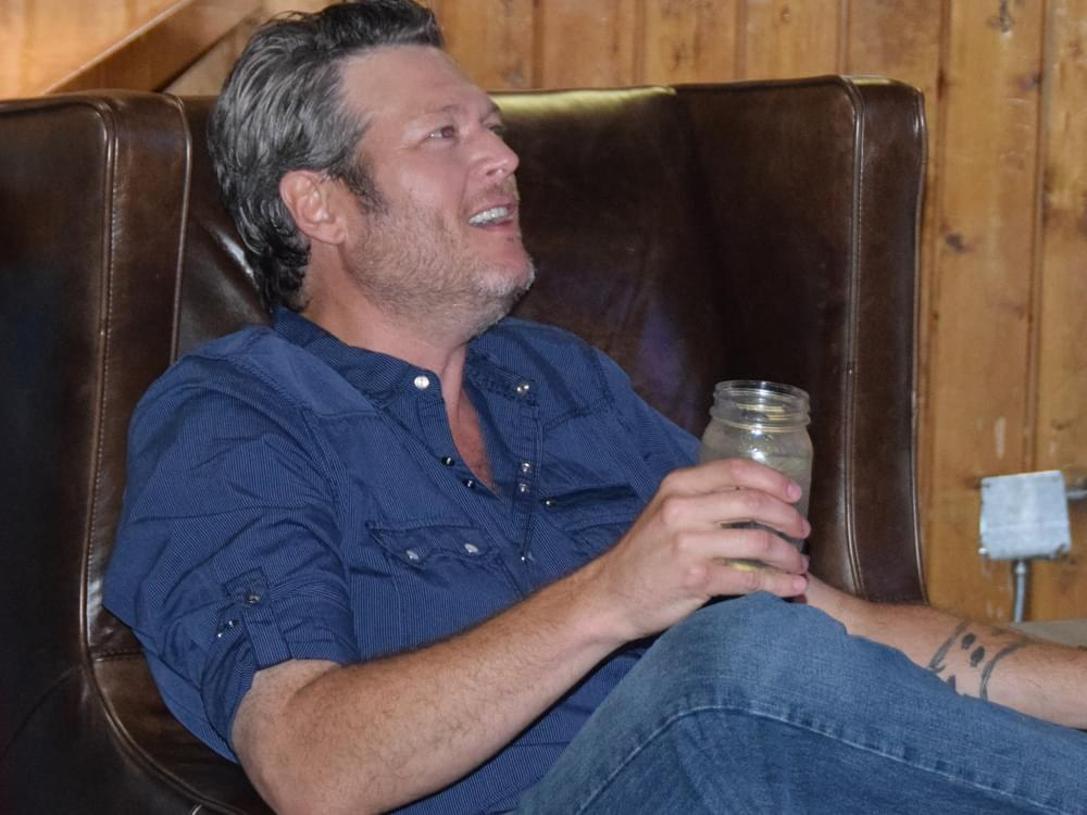 "Blake Shelton Says Reba McEntire Was Initially Asked to Be a Coach on ""The Voice"""