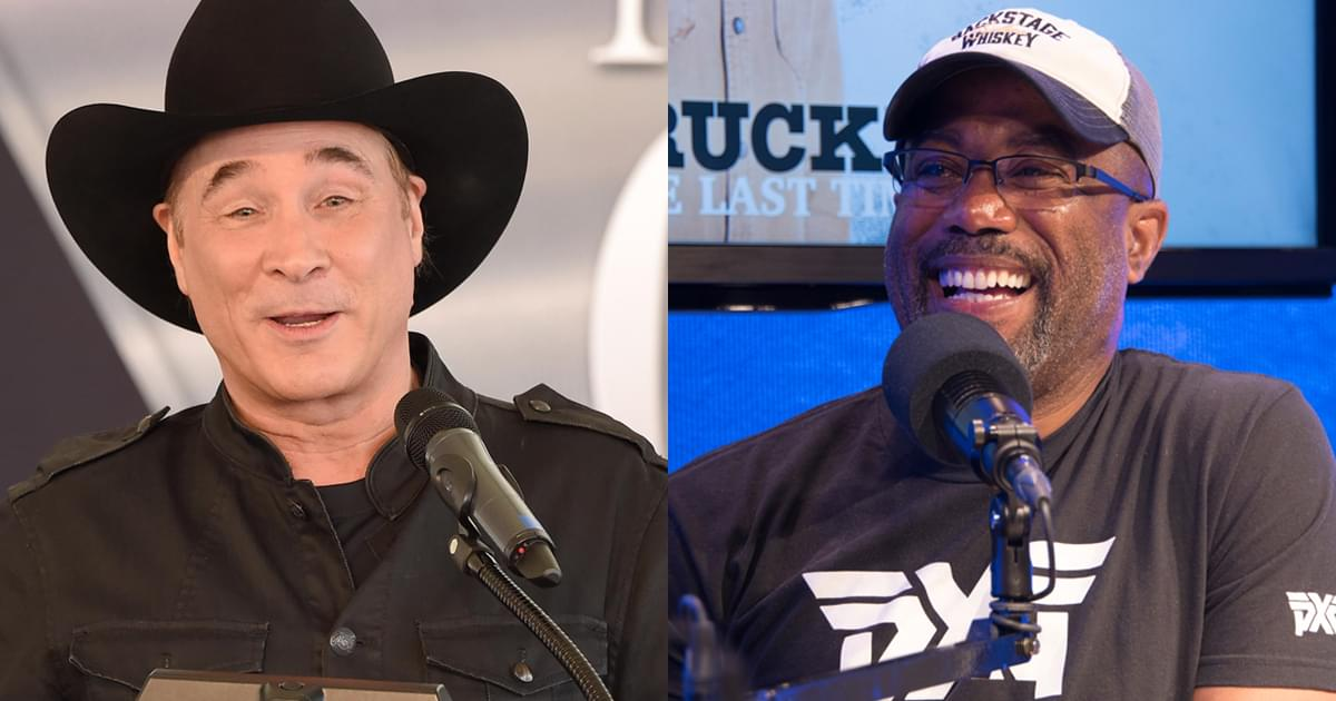 Clint Black & Darius Rucker to Perform on Opry on June 20