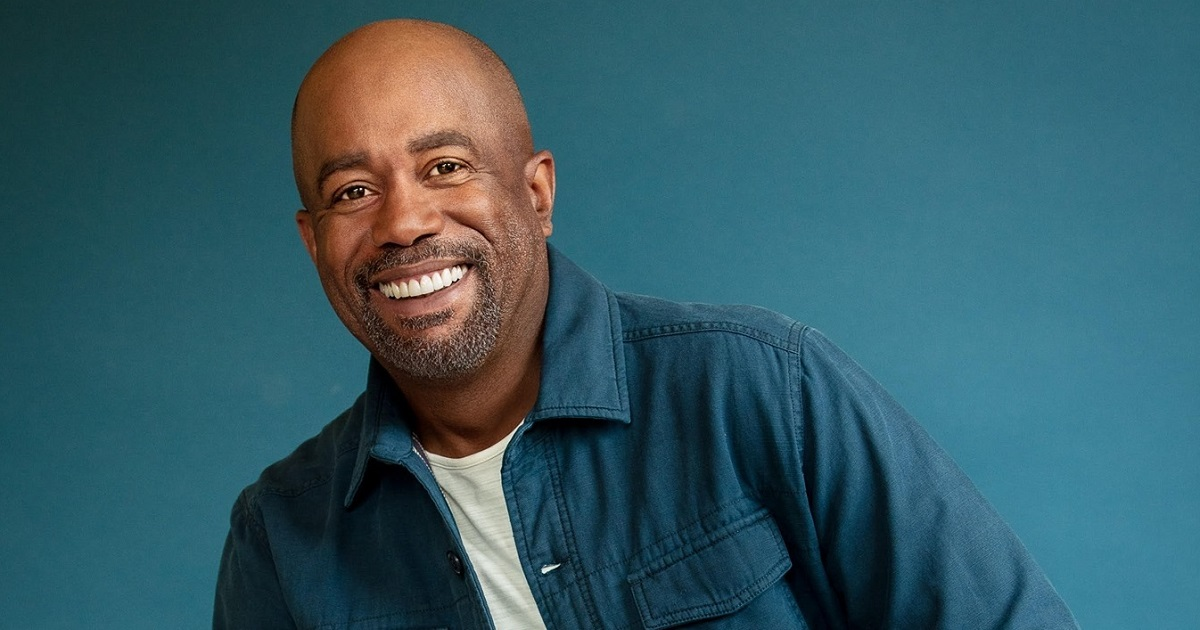 Darius Rucker Says Playing Live Is In His DNA