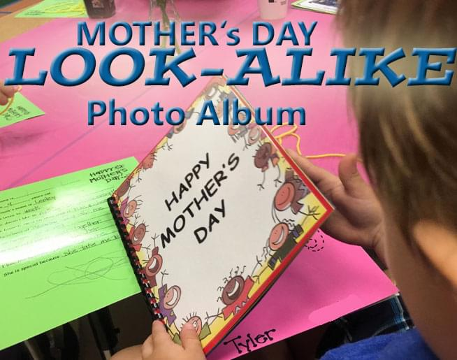 Mother's Day Look-Alike Photo Album