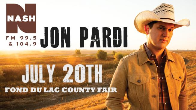 Jon Pardi at the FDL County Fair