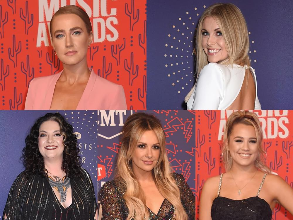 "Ingrid Andress, Lindsay Ell, Ashley McBryde, Carly Pearce & Gabby Barrett to Guest Host ""Nights With Elaina"""