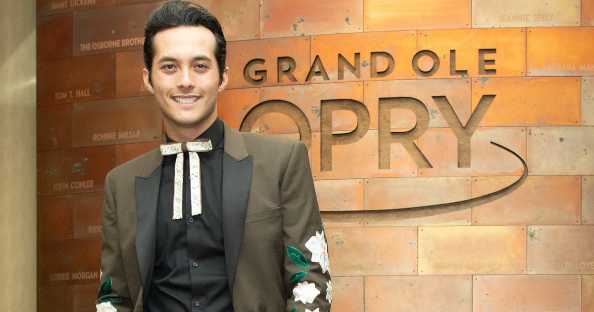 Laine Hardy Made His Opry Debut This Weekend, As His Debut Album Arrives September 17th