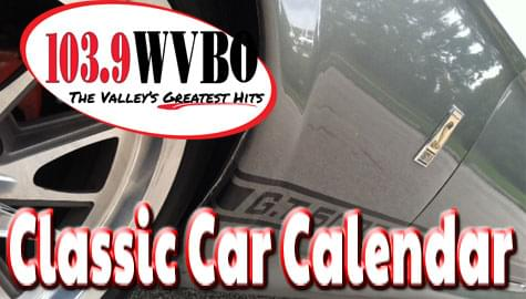 Classic Car Show and Calendar