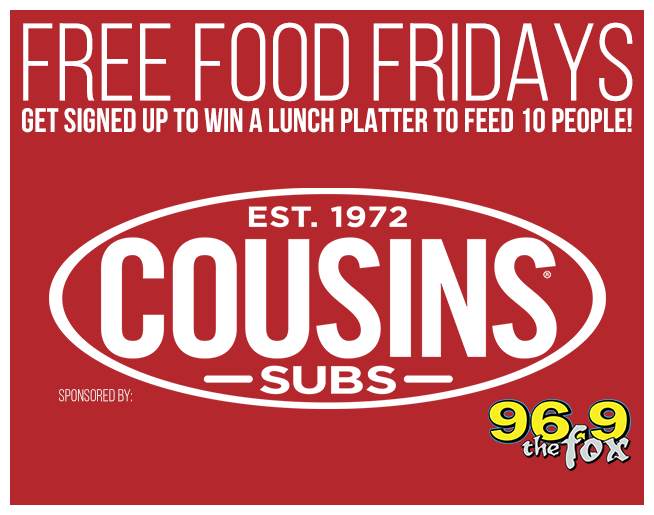 Sign up for Free Food Friday!