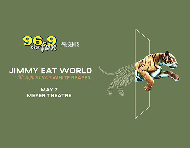 96.9 The Fox Presents: Jimmy Eat World