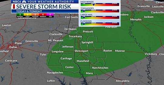 Storms Are Possible Tuesday Evening!