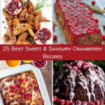 Get into the festive spirit with these delicious cranberry recipes!