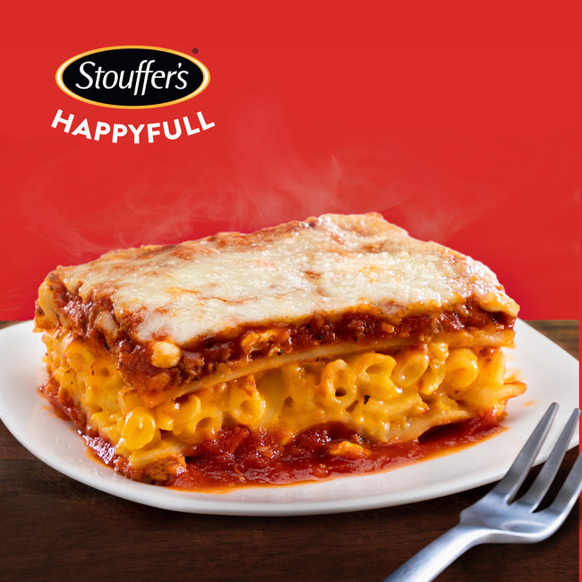New Food Mash-Up: Lasagna with a Layer of Mac-and-Cheese