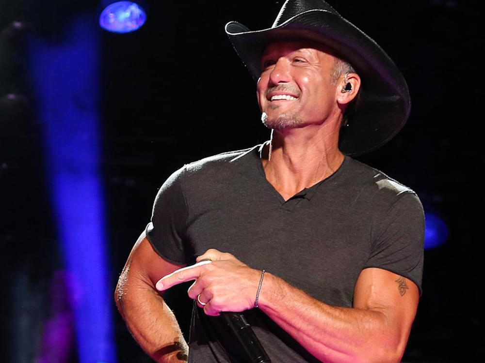 """Tim McGraw Authors New Fitness Book, """"Grit & Grace"""""""