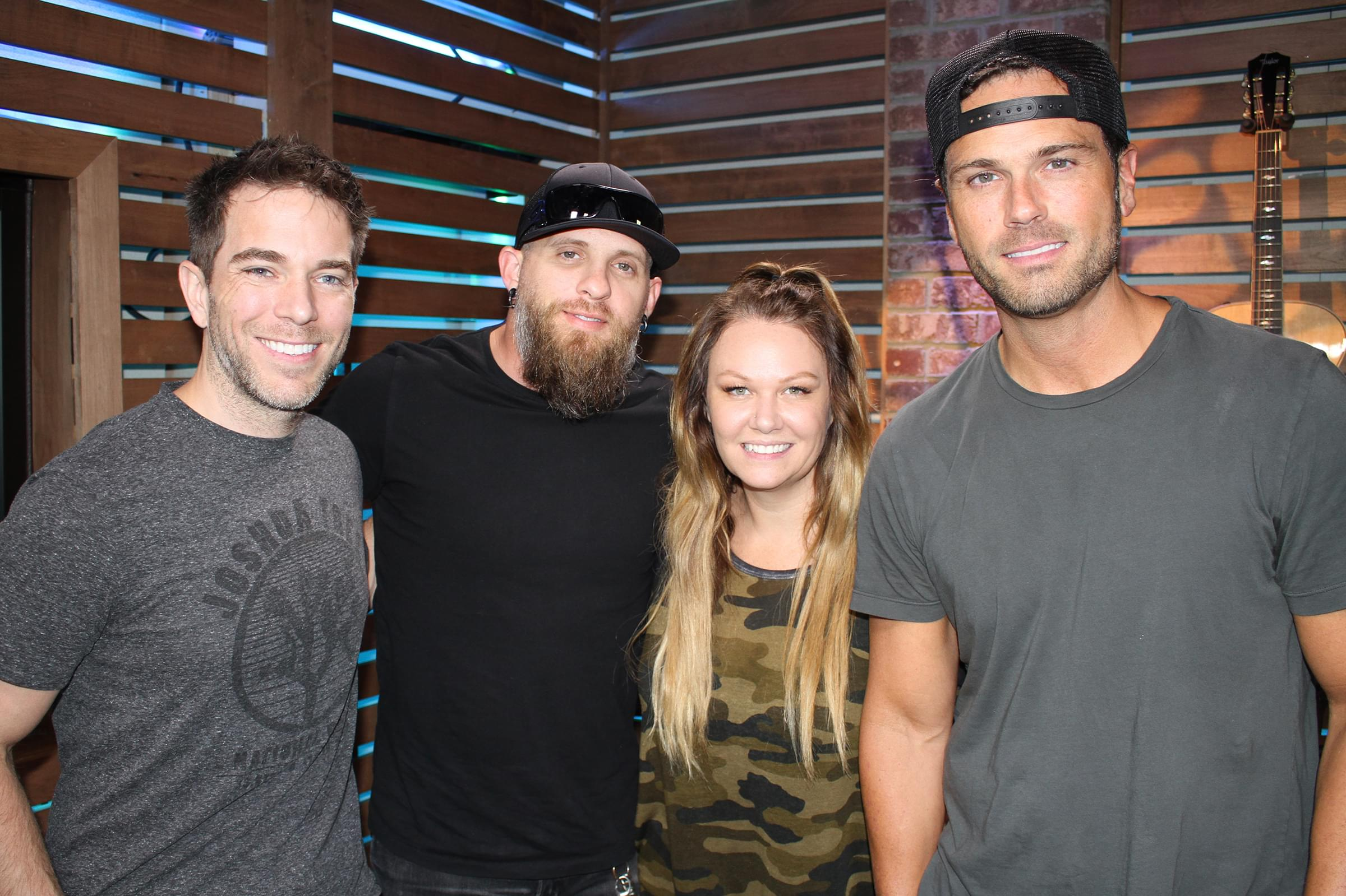 Brantley Gilbert Gives New Details About Tootsie's Birthday Bash Show, Reveals How He Got Detained at the Airport, & MORE
