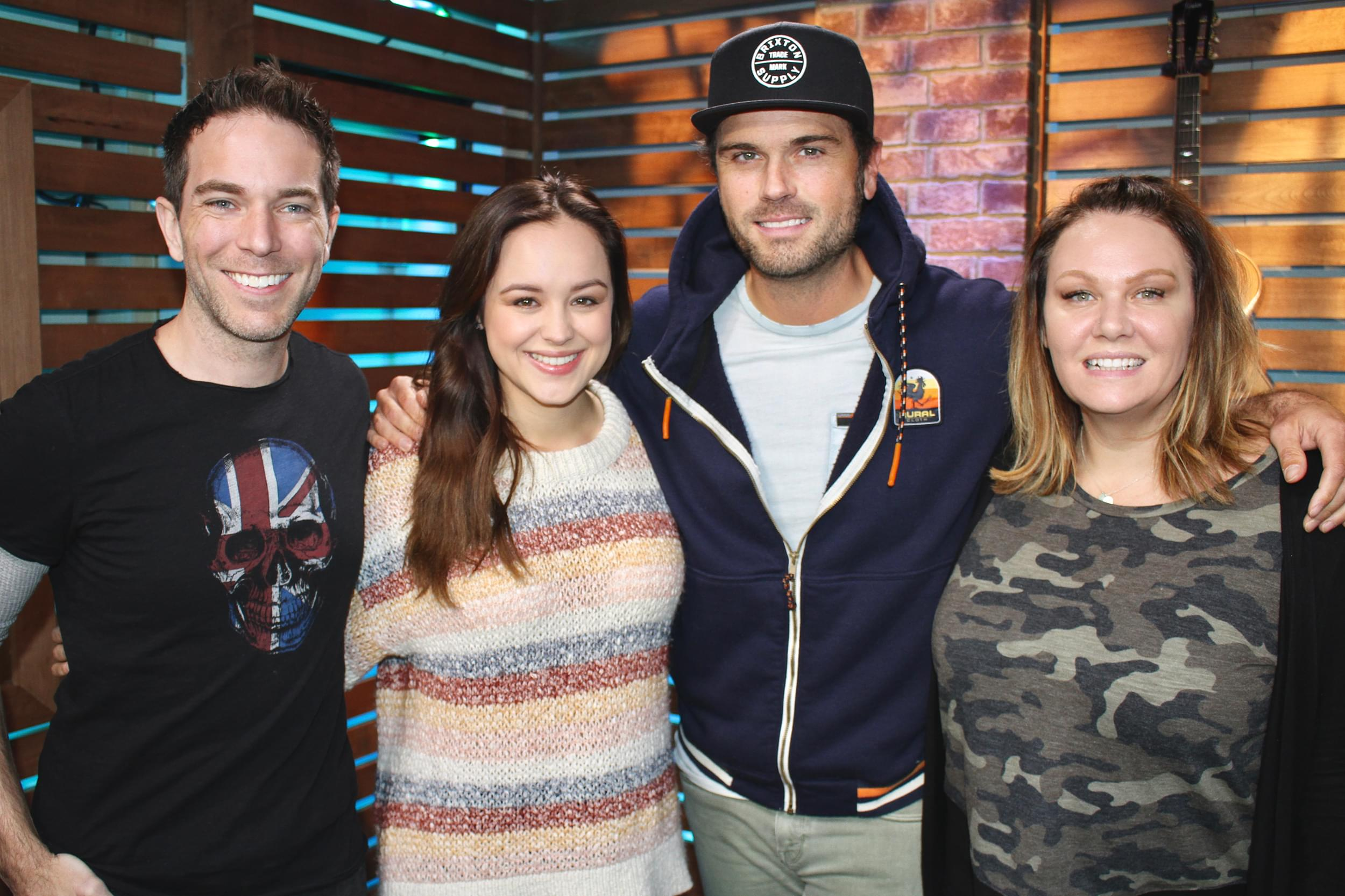 """Hayley Orrantia Takes the #HealthyHalloween Taste Test, Talks New Song """"Nights and Weekends,"""" & MORE"""