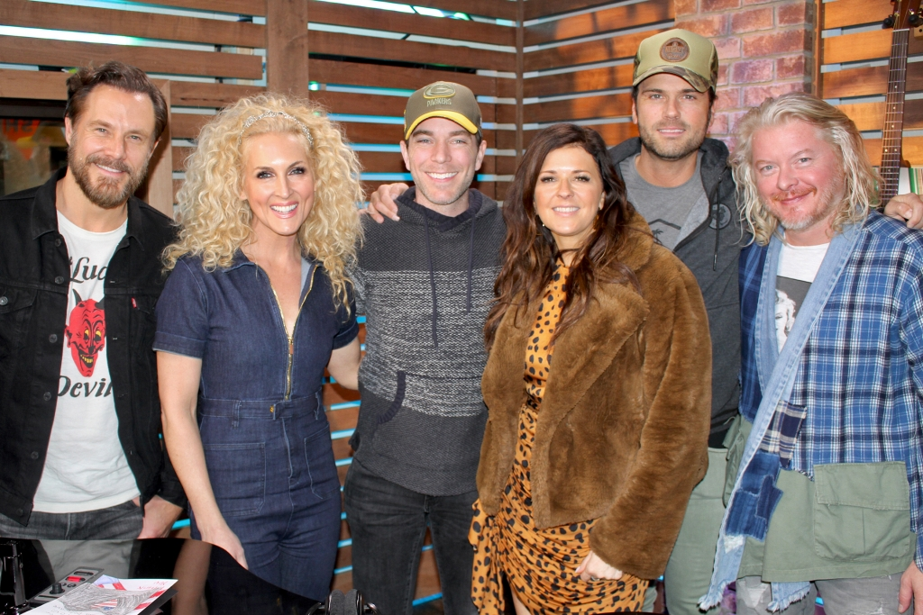 """Little Big Town Has a Full Circle Moment with Ty, Discusses Strategic Song Selection on New Album """"Nightfall,"""" Touring Historic Venues, & MORE"""