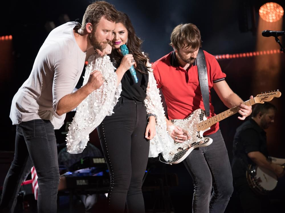 "Watch Lady Antebellum Perform New Single, ""Champagne Night,"" on ""The Tonight Show"""