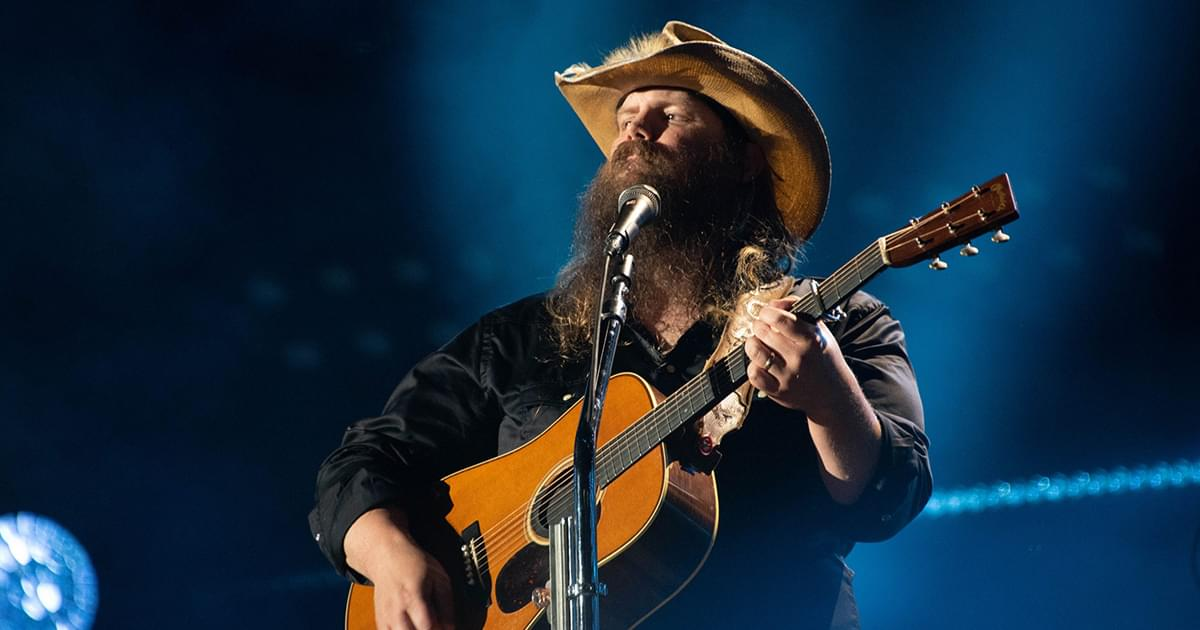 "Chris Stapleton Releases Hopeful New Song, ""Starting Over"" [Listen]"