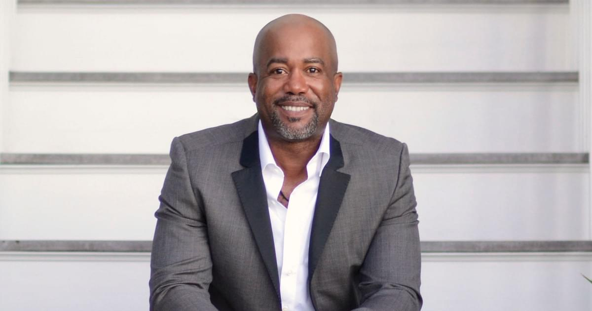 Darius Rucker is Ready For Some Football!