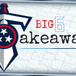 B6B: Big 6 Takeaways from Titans @ Colts