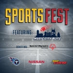JUST ANNOUNCED: 104-5 The Zone's 10th Annual SportsFest featuring the Music City Blitz is March 30th at Nissan Stadium!