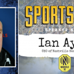 Nashville SC Ian Ayre to Speak at SportsFest 2019