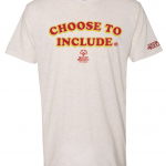 Get Your Choose To Include T-Shirt at SportsFest!