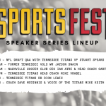 The Busy Bee HVAC Speaker Series Lineup for the 10th Annual SportsFest