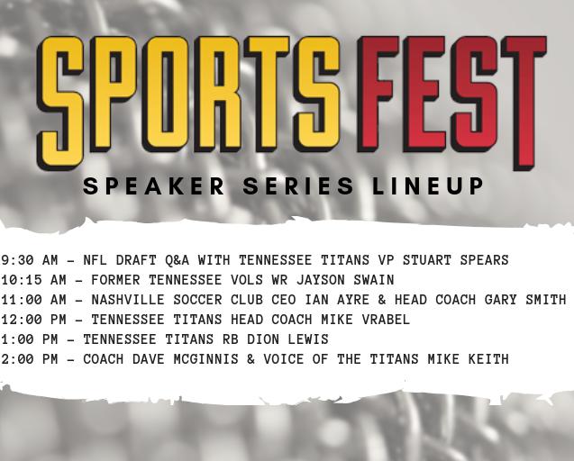 Speaker Series 2019 Lineup