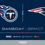 Titans vs Patriots: Game Day Info