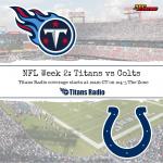 Titans vs Colts: Game Day Info