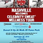 Celebrity Sweat Wellness Tour Nashville