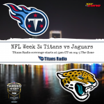 Titans vs Jaguars: Week 3 Primer