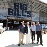"""BIG BILL'S"" Open Air Social Club Unveiled to Honor Talladega Superspeedway  Builder & Founder of NASCAR, Bill France Sr."