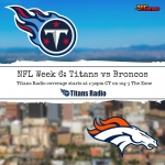 Titans vs Broncos: Week 6 Primer
